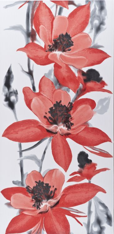 Polcolorit Obklad Dekor ALASKA RED ORLIK DN300X600