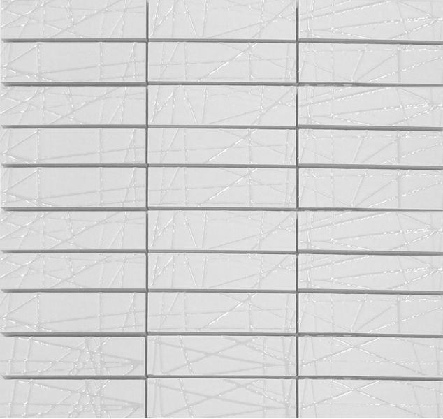 Polcolorit Obklad Mozaika ARDESIA BIANCO MOZ D DS300X300