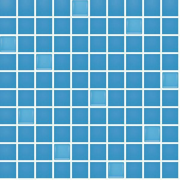 Polcolorit Obklad Mozaika ART BLUE SZKLO DS300X300