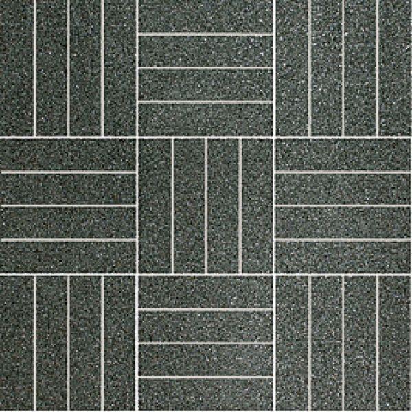 Polcolorit Dlažba Mozaika BRILLANTE NERO B DG300X300