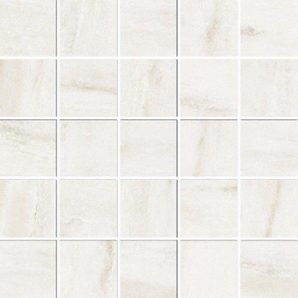 Ceramika Gres Dlažba Mozaika Paladio bialy poler 29,7 x 29,7 cm