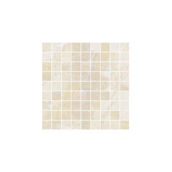 Ceramika Gres Dlažba Mozaika Excellent krem poler 29,7 x 29,7 cm
