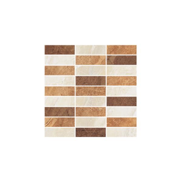 Ceramika Gres Dlažba Mozaika Excellent krem MIX poler 29,7 x 29,7 cm