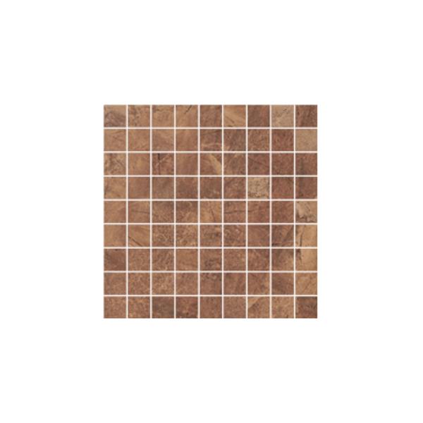 Ceramika Gres Dlažba Mozaika Excellent braz poler 29,7 x 29,7 cm
