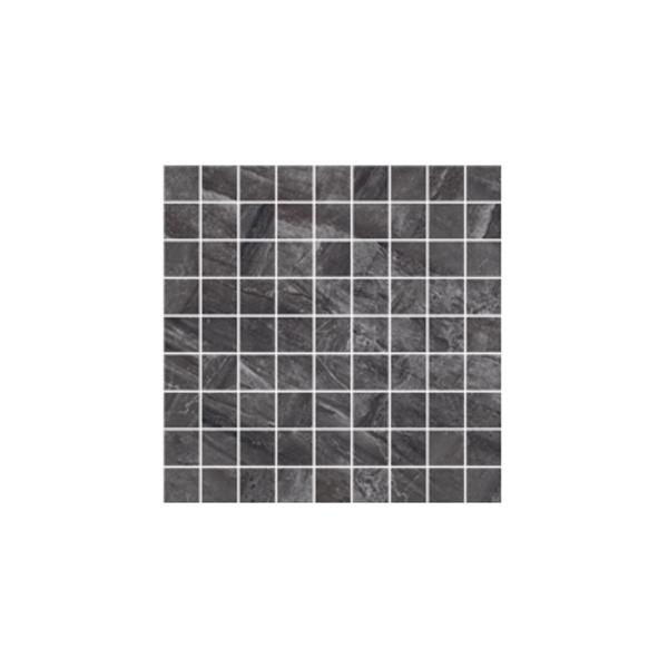 Ceramika Gres Dlažba Mozaika Excellent antracyt poler 29,7 x 29,7 cm