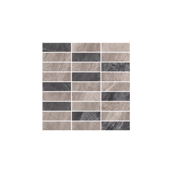 Ceramika Gres Dlažba Mozaika Excellent szary MIX poler 29,7 x 29,7 cm