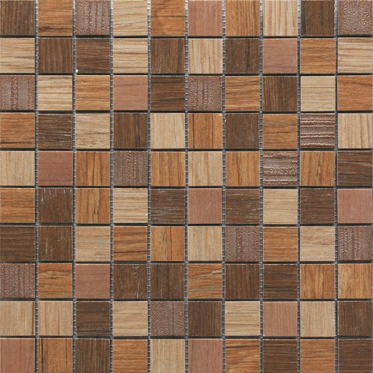 Ceramica Rondine Dlažba Jungle Mozaika Lux Beige Mosaico 30,5 x 30,5
