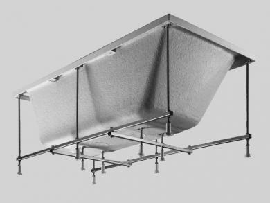 Samonosná konstrukce k akrylátové vaně