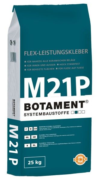 M 21 šedý flexibilní lepící tmel 25 kg
