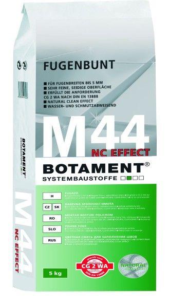 M44 NC EFFECT spárovací hmota 16 stříbřitě šedá 5 kg
